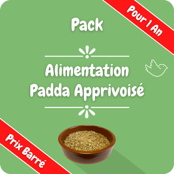 Pack - Alimentation Padda de Java